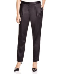 Alexander Wang T By Pleated Stretch Satin Pants