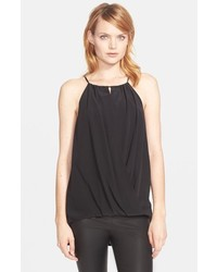 Trina Turk Bria High Neck Silk Top