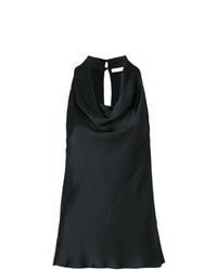 L'Autre Chose Draped Neck Blouse