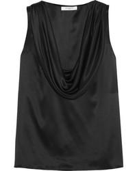 Givenchy Draped Silk Satin Top