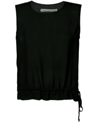 Raquel Allegra Drawstring Waist Sleeveless Top