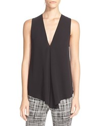 Theory Meighlan Sleeveless Silk Top