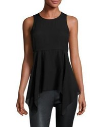 Elizabeth and James Sadie Sleeveless High Low Top