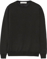 Stella McCartney Wool And Silk Blend Sweater Black
