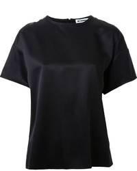 Jil Sander Back Invisible Zip T Shirt