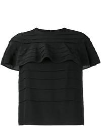 Valentino Ruffle Detail T Shirt