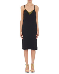 Lanvin Crepe Slip Dress
