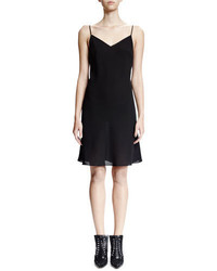 Givenchy Sleeveless Slip Dress Black