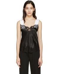 Givenchy Black Silk Lace Camisole