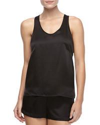 La Perla Dolce Sleeveless Silk Tank Dolce Silk Shorts