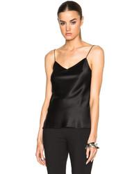 Calvin Klein Collection Fanny Satin Silk Charmeuse Camisole