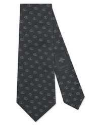 Gucci Running Lo Jacquard Tie