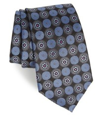 Nordstrom Shop Old English Medallion Silk Tie