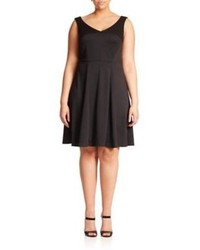 ABS by Allen Schwartz Abs Sizes 14 24 Knit Fit  Flare Dress