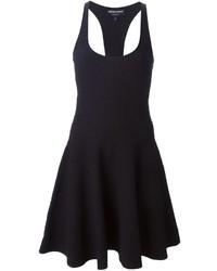 Emporio Armani Sleeveless Skater Dress