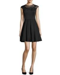 c43caee5127c17 ... Ted Baker London Dollii Embroidered Skater Dress Black