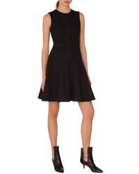 Akris Punto Pique Jersey A Line Dress