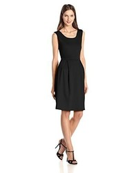 Star Vixen Sleeveless Box Pleat Skater Dress