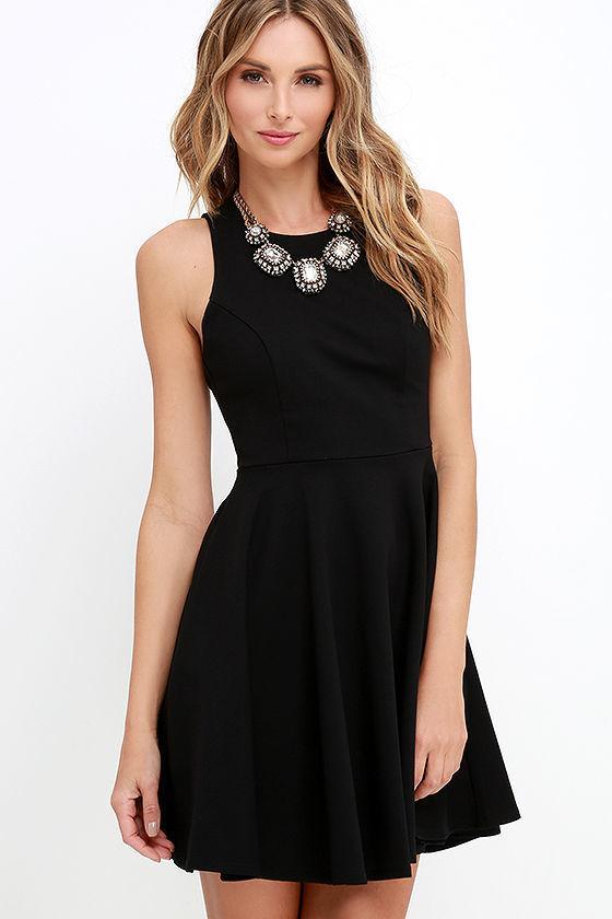 6067915fe2 ... Black Skater Dresses Stylish Ways Berry Red Skater Dress ...
