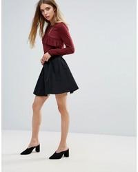 First I Mini Skater Skirt