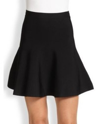 BCBGMAXAZRIA Ingrid Ponte Knit Fit  Flare Skirt