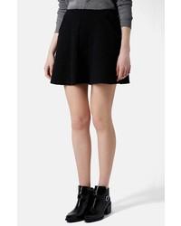 Topshop Jacquard Skater Skirt