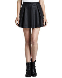 July waxed pleated miniskirt medium 32359