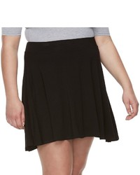 Juniors Plus Size So Skater Skirt