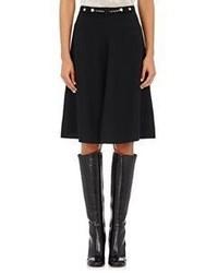 Maison Mayle Crepe Flared Skirt