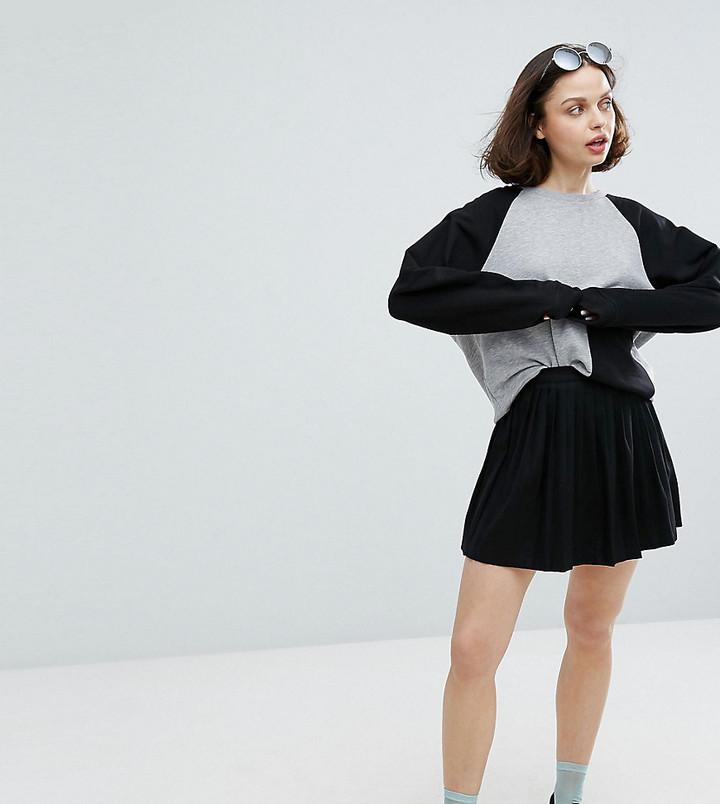 50e40b453c Monki Mini Skater Skirt, $24 | Asos | Lookastic.com