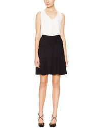 Miu Miu Draped Waist Flare Skirt