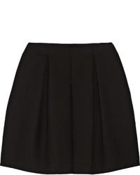 Fendi Pleated Cotton Crepe Skirt