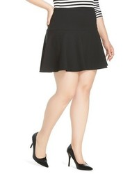 Merona Plus Size Ponte Skater Skirt Tm