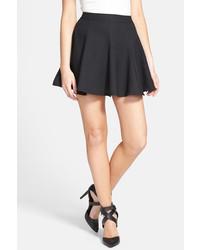 Lush Print Skater Skirt