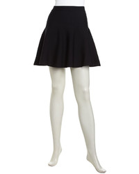 Romeo & Juliet Couture Pull On Flare Stretch Skirt Black
