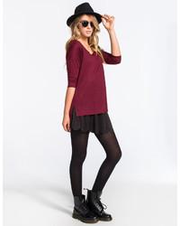 Full Tilt Scallop Hem Skater Skirt