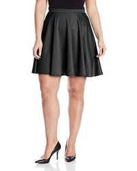 Star Vixen Plus Size Short Skater Skirt