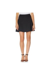 The Limited Black Collection Seamed Mini Skater Skirt