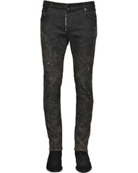 Just Cavalli 17cm Used Skinny Stretch Jeans