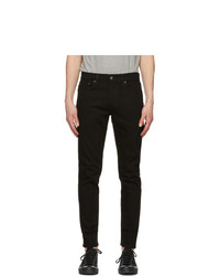 Levis Black 512 Slim Taper Flex Jeans