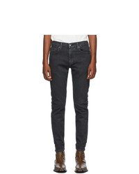 Levis Black 512 Slim Taper Jeans