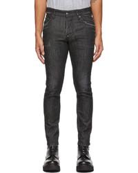 DSQUARED2 Black Faded Skater Jeans