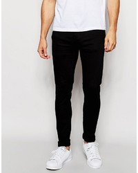 ONLY & SONS Black Jeans In Super Skinny Fit
