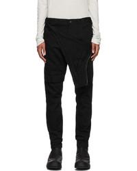 Julius Black Layered Slim Jeans