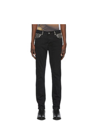 Stolen Girlfriends Club Black Mean Streets Skinny Jeans