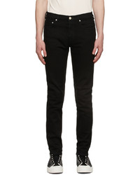Ps By Paul Smith Black Organic Slim Fit Jeans