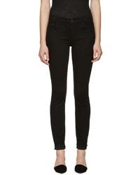 Proenza Schouler Black Ps J5 Ultra Skinny Stretch Jeans