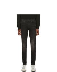 R13 Black Sid Skinny Jeans