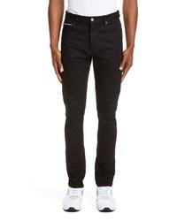 Ksubi Chitch Black Skinny Fit Selvedge Jeans