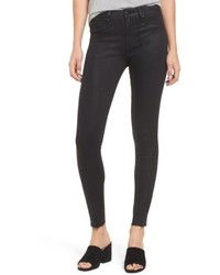 Leith Coated Denim Skinny Jeans